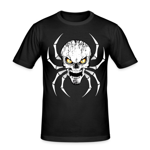 Skull spider - T-shirt près du corps Homme