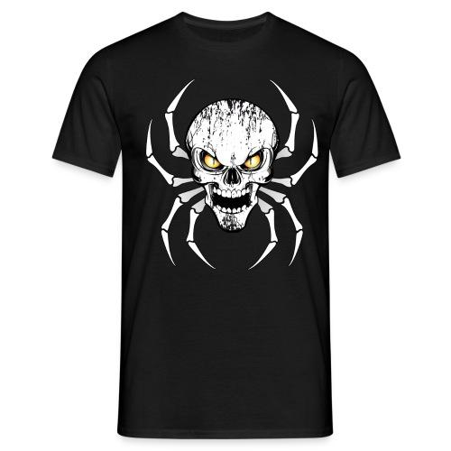 Skull spider - T-shirt Homme