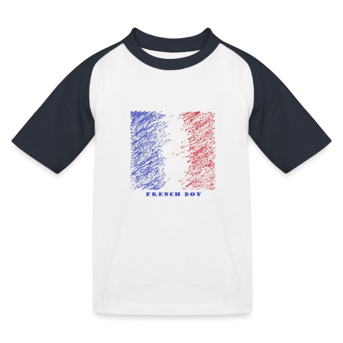French Boy - T-shirt baseball Enfant