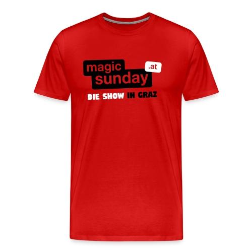 Die Show - Premium Rot - Männer Premium T-Shirt