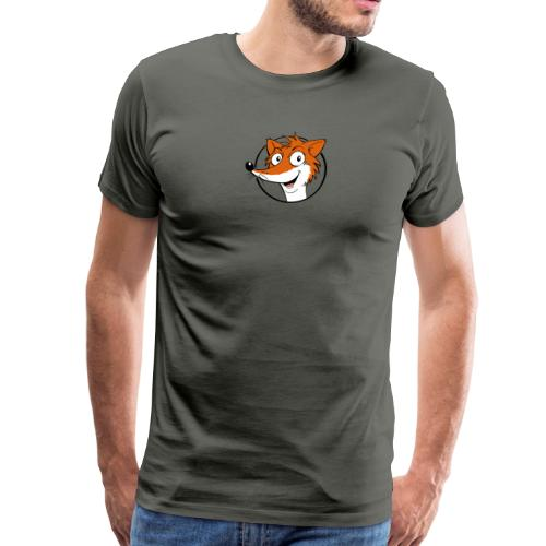 Fuchs farbig - Männer Premium T-Shirt  - Männer Premium T-Shirt