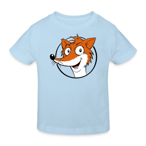 Fuchs farbig - Kinder Bio-T-Shirt  - Kinder Bio-T-Shirt