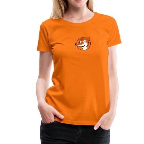 Fuchs farbig - Frauen Premium T-Shirt - Frauen Premium T-Shirt