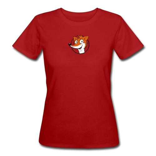 Fuchs farbig - Frauen Bio-T-Shirt  - Frauen Bio-T-Shirt