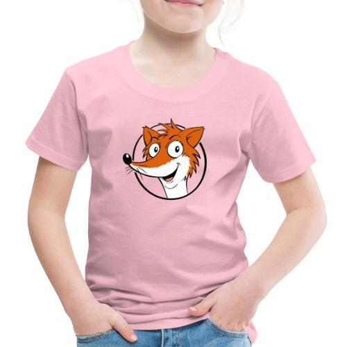Fuchs farbig - Kinder Premium T-Shirt  - Kinder Premium T-Shirt