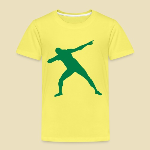 Bolt Siegerpose - Kinder Premium T-Shirt