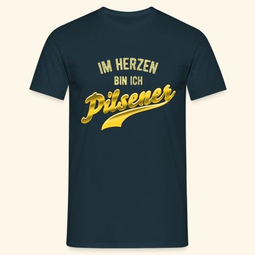 lustiges Bier-Shirt Pilsener - Männer T-Shirt