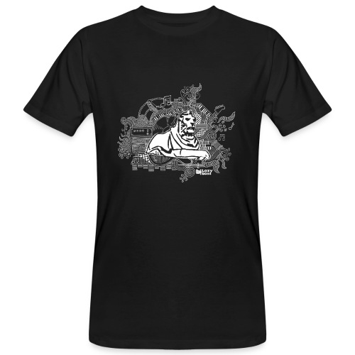 Nottingham left lion t-shirt - Men's Organic T-Shirt