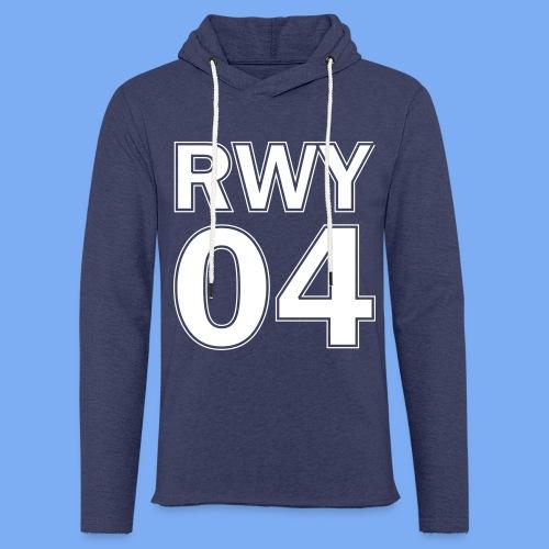 Runway 04 Landebahn Pilot landen - Light Unisex Sweatshirt Hoodie