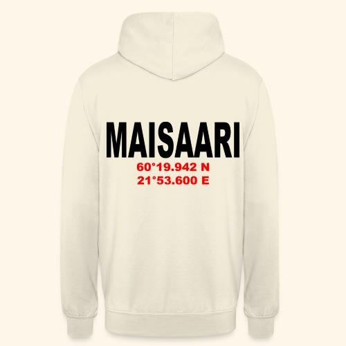 """Maisaari Hoodie - Huppari """"unisex"""""""