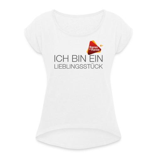 Lieblingsstück - Frauen T-Shirt mit gerollten Ärmeln