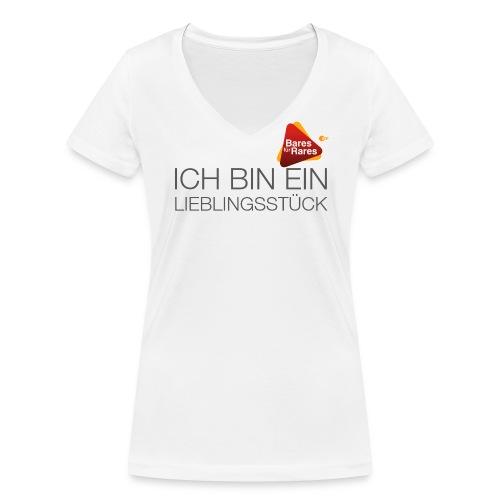 Lieblingsstück - Frauen Bio-T-Shirt mit V-Ausschnitt von Stanley & Stella