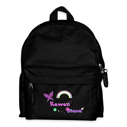 Kawaii Diana mochila negro - Mochila infantil