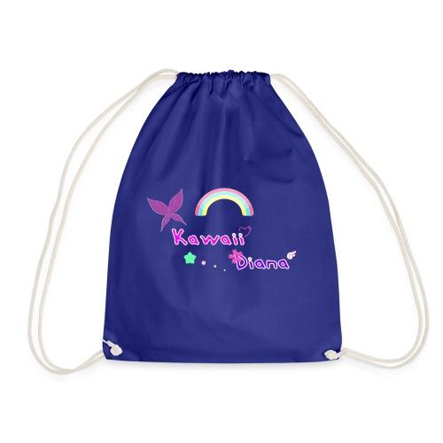 Kawaii Diana bolsa azul oscuro - Mochila saco