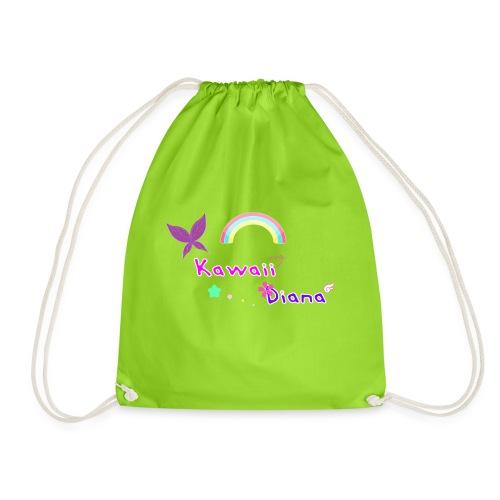 Kawaii Diana bolsa verde lima - Mochila saco