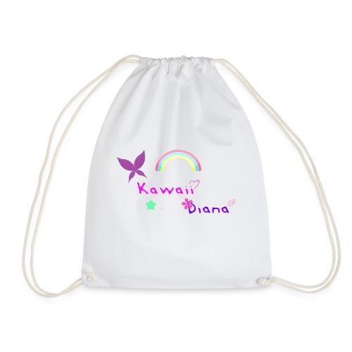 Kawaii Diana bolsa blanco - Mochila saco