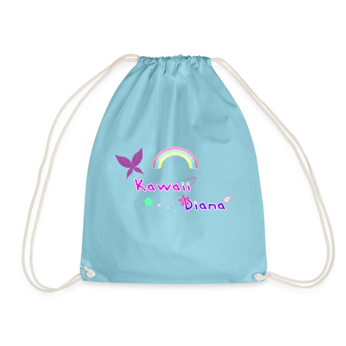 Kawaii Diana bolsa azul claro - Mochila saco