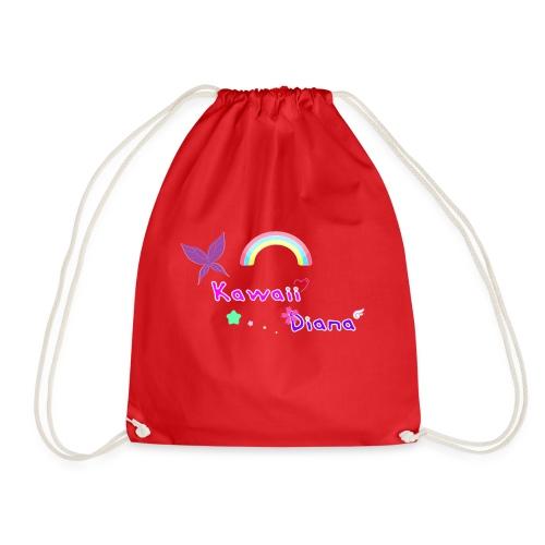 Kawaii Diana bolsa rojo - Mochila saco