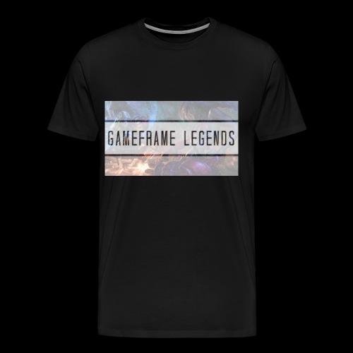Männer T-shirt GameFrame Legends - Männer Premium T-Shirt