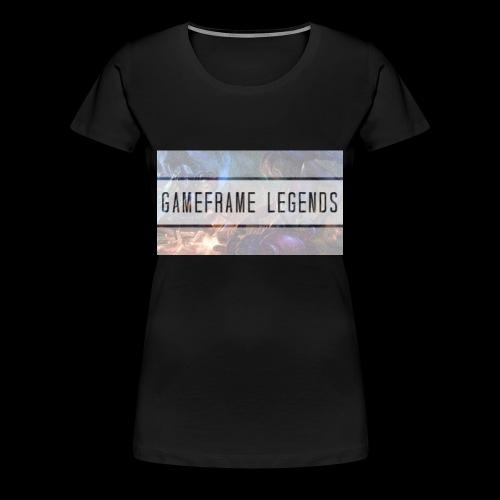 Frauen T-shirt GameFrame Legends - Frauen Premium T-Shirt