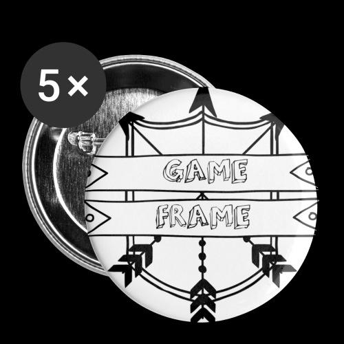 GameFrame Button (56 mm) - Buttons groß 56 mm