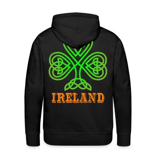 Ireland - Irlande - Sweat-shirt à capuche Premium pour hommes