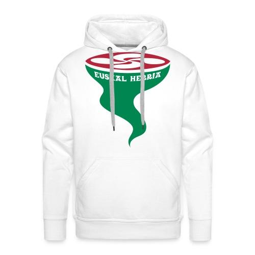 Euskal Herria Lauburu - Sweat-shirt à capuche Premium pour hommes