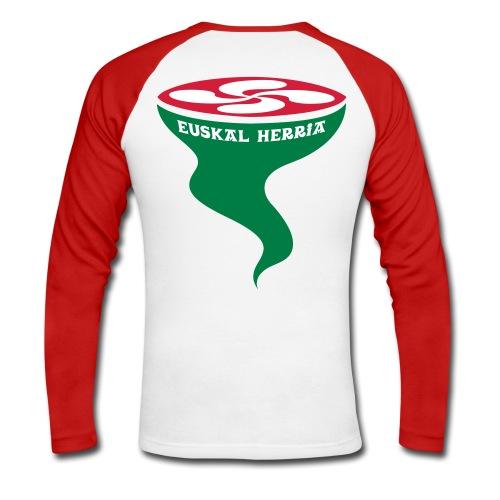 Euskal Herria Lauburu - T-shirt baseball manches longues Homme