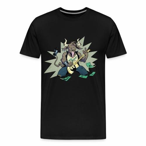Männer Premium Shirt Maskottchen ohne Logo - Männer Premium T-Shirt