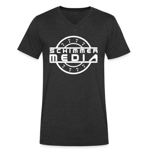 Schimmer-Media V Shirt - Männer Bio-T-Shirt mit V-Ausschnitt von Stanley & Stella