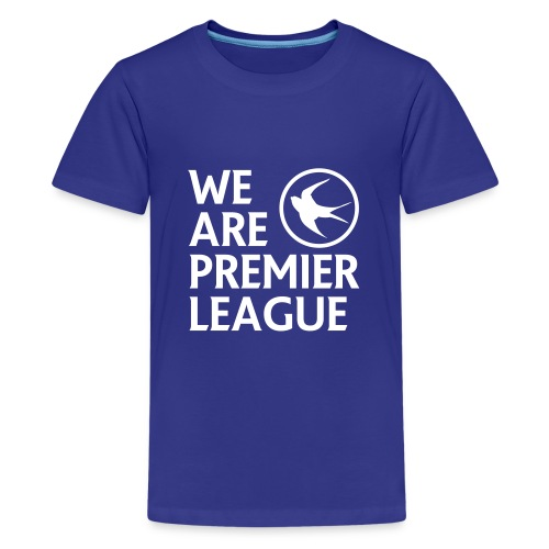 Cardiff City FC - Kids Tshirt - Teenage Premium T-Shirt