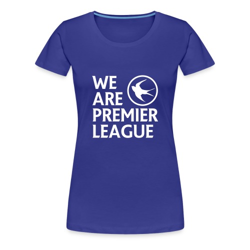 Cardiff City FC - Womens Tshirt - Women's Premium T-Shirt