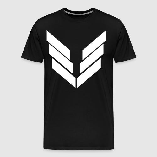 UniteServers Herre T-shirt Blackout Edition - Herre premium T-shirt