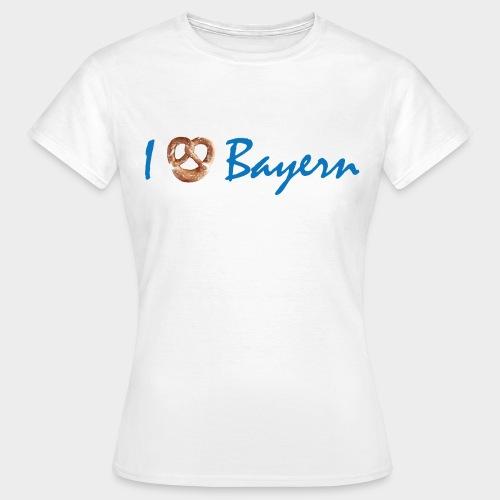 I love Bayern/ I liab Bayern (Damen) - Frauen T-Shirt