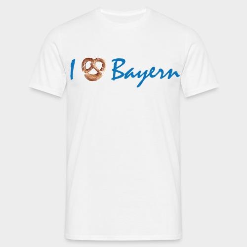 I love Bayern/ I liab Bayern (Herren) - Männer T-Shirt