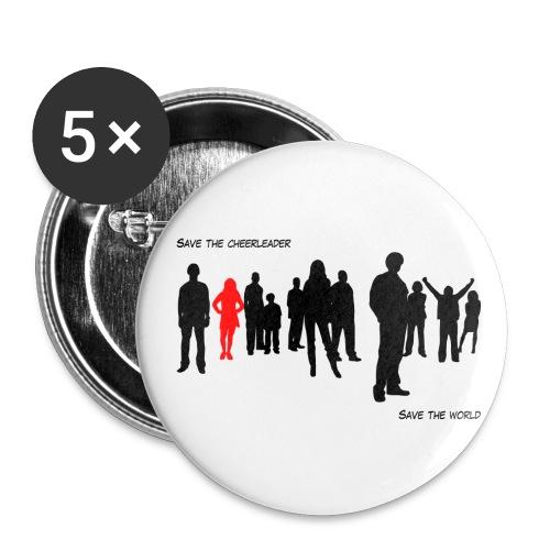 badge Heroes - Badge moyen 32 mm