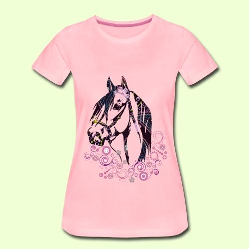 linea Cavallo - Maglietta Premium da donna