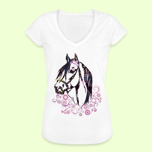 linea Cavallo - Maglietta vintage da donna