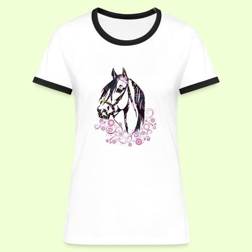 linea Cavallo - Maglietta Contrast da donna