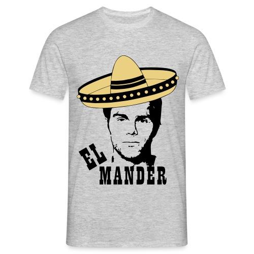 El Mander - T-shirt herr