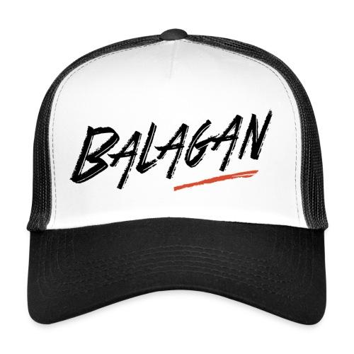 Balagan, Black/White Cap - Trucker Cap