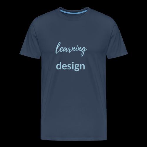Learning Design Men Shirt - Men's Premium T-Shirt