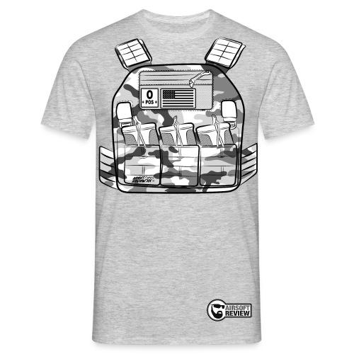GUN ADDICT TACTICAL OPERATOR 6 MM / AIRSOFT REVIEW - T-shirt Homme