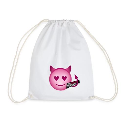 Teufel Emoji - Turnbeutel