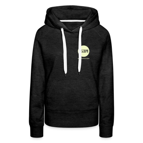 Women's Grey 3am logo hoodie - Women's Premium Hoodie