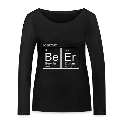 Bier (Beer) Periodensystem der Elemente - Frauen Bio-Langarmshirt von Stanley & Stella