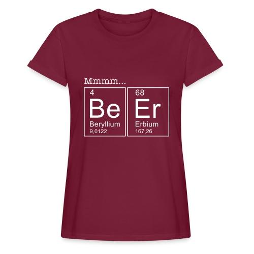 Bier (Beer) Periodensystem der Elemente - Frauen Oversize T-Shirt