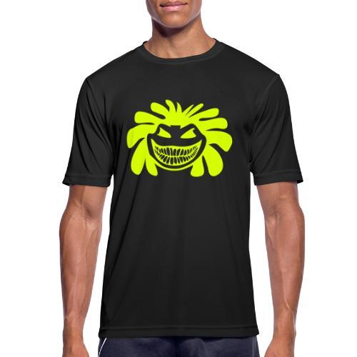 Rasta Smiley T-Shirts - Männer T-Shirt atmungsaktiv