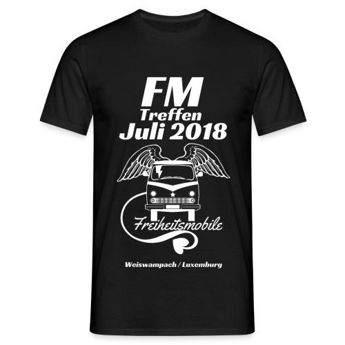 FM-Treffen 2018 Festival Shirt / Nur für kurze Zeit! - Männer T-Shirt
