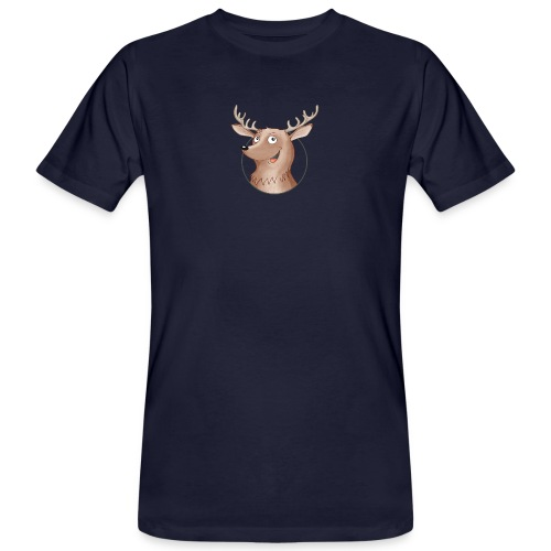Hirsch - Männer Bio-T-Shirt - Männer Bio-T-Shirt